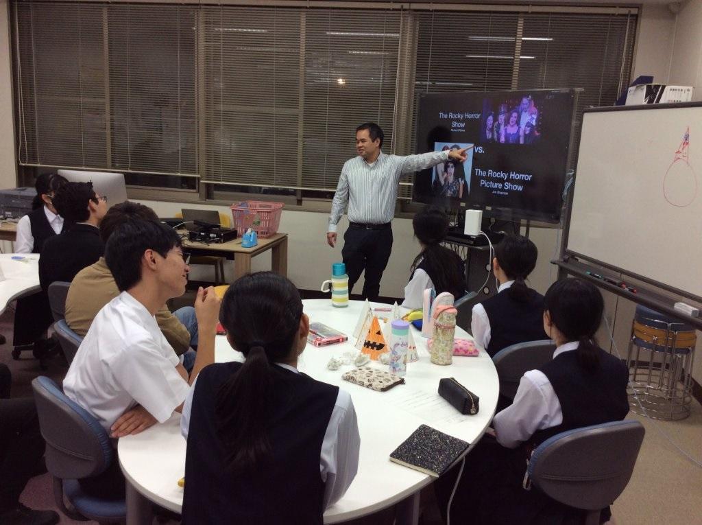 Presentation by Prof. Tom.