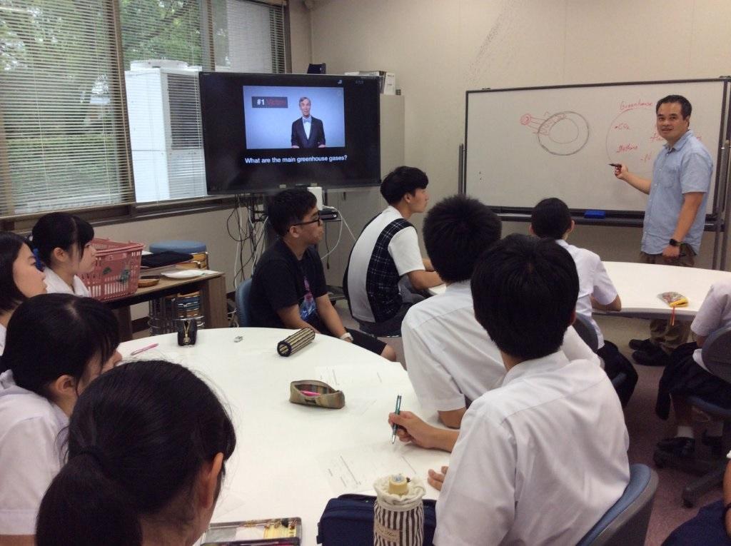 Presentation by Prof. Tom