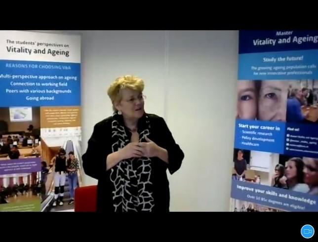 Session by Professor Eline,Leiden University