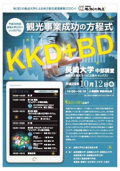 観光事業成功の方程式 KKD+BD
