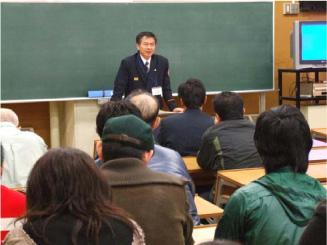 長崎中央消防署担当官による講話