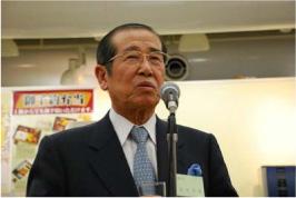 福地日本放送協会会長 による乾杯の発声