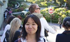 工学研究科 博士前期課程総合工学専攻 電気電子工学コース2年 ?嵜 美香さん