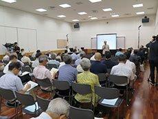 8月1日に開催された説明会の様子