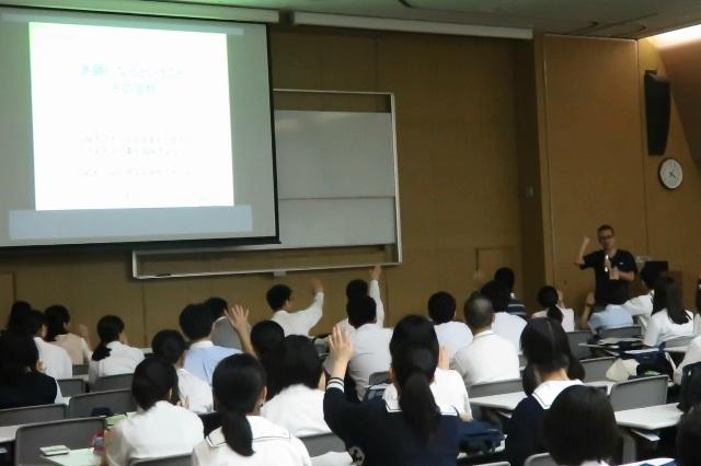 泉川教授の講話