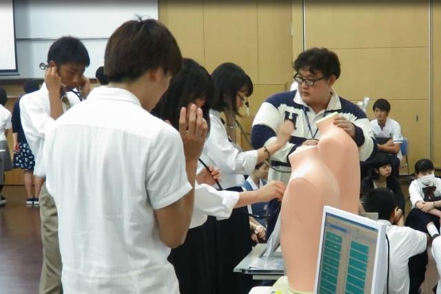 聴診器体験