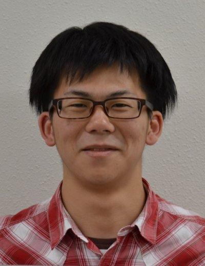 水産・環境科学総合研究科 博士前期課程 環境科学専攻1年 山本絋平君