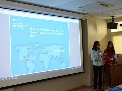 ポルトガル大学のプレゼンテーション