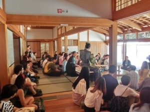 長崎歴史文化博物館で寸劇を見学