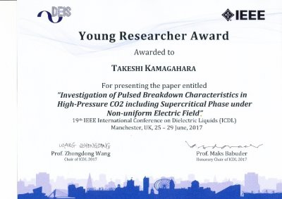 Young Researcher Award