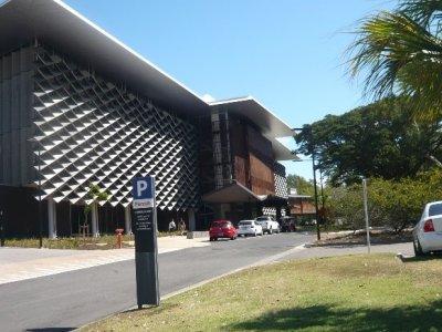 JCUの新しいヘルスサイエンス教育研究棟
