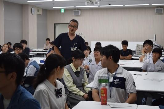 泉川教授の講義