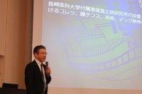 講演:金子聰 熱帯医学研究所教授