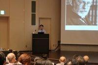 講演:北潔 熱帯医学・グローバルヘルス研究科長