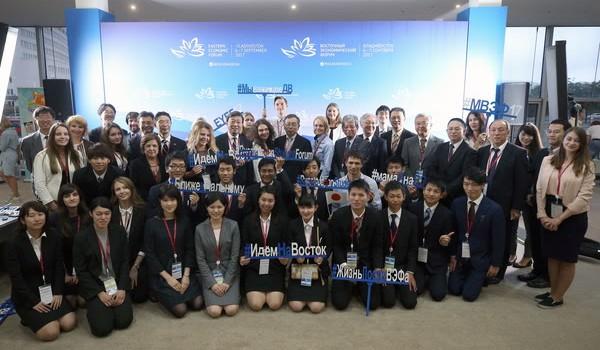 日露学生フォーラムに参加した両国の学生
