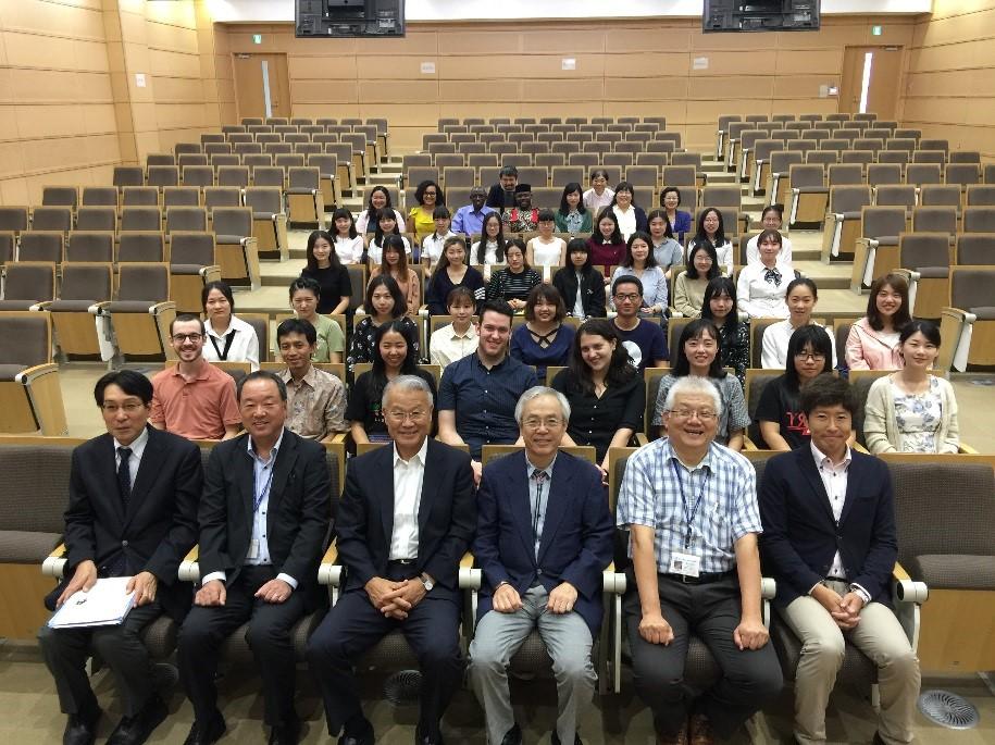 平成29年度国際教育リエゾン機構新入留学生の入学式を実施しました。
