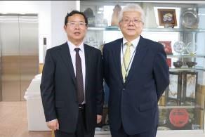 周副学長と夛田副学長
