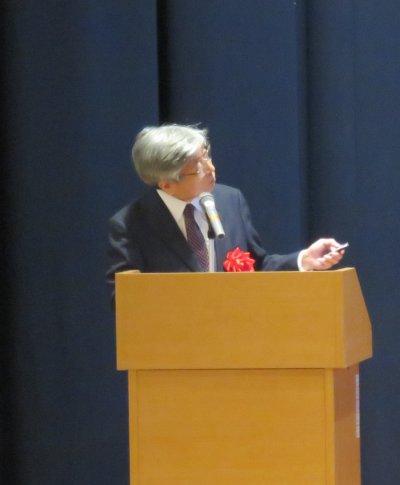 相川名誉教授