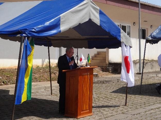 佐藤駐ガボン全権大使のスピーチ