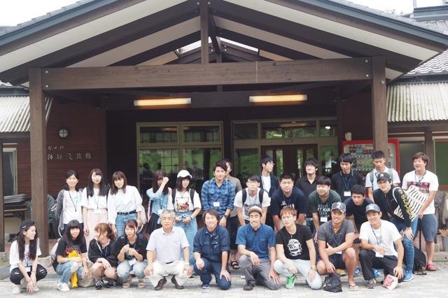 セミナーに参加した東日本国際大学の学生