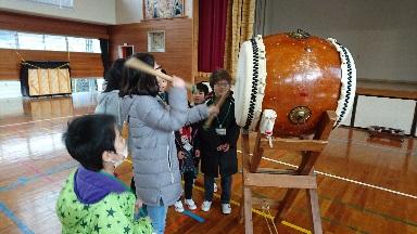 大草太鼓の演奏体験