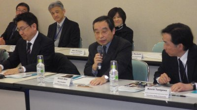 Dr. Ohto, Vice President of FMU