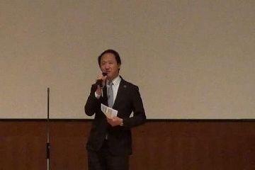 意見を述べられる鈴木外務省地球規模課題審議官