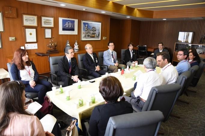 5月25日:長崎日本ポルトガル協会での懇談