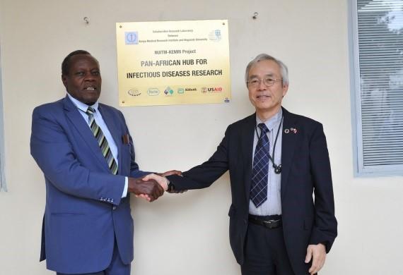 汎アフリカ感染症研究Hub開所式