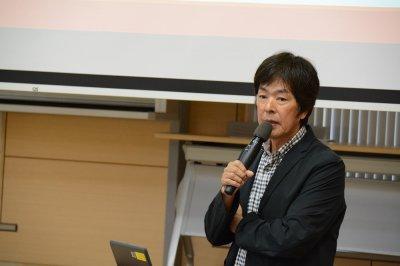 V・ファーレン長崎での取り組みを紹介する��田社長