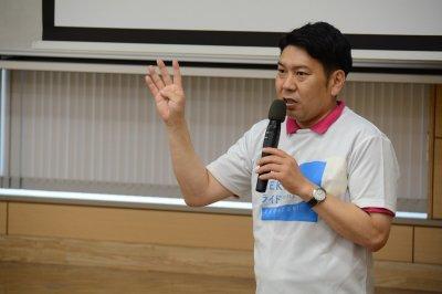 大村市の取り組みを紹介する園田市長