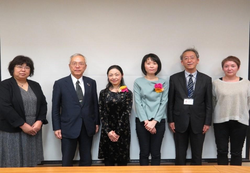 「長崎大学未来に羽ばたく女性研究者賞」受賞者