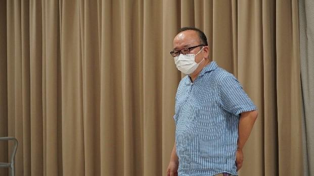 フィールドワークのポイントを説明する長崎大学経済学部 山口純哉准教授