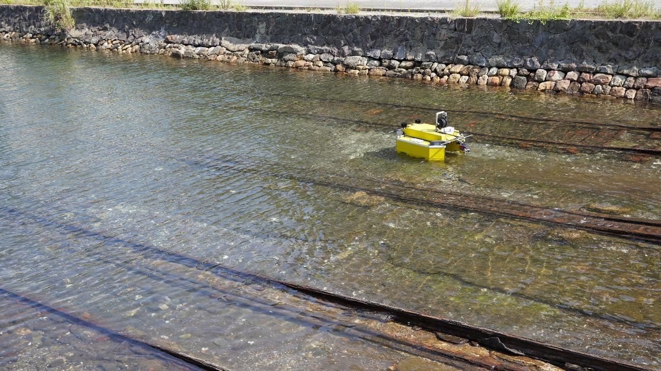 KENBOTⅢによる水中点検