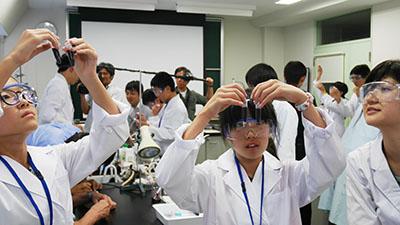 色素増感太陽電池の製作実験(自然エネルギー活用の学習)
