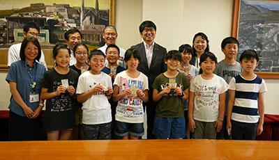 長崎市長・教育長表敬訪問